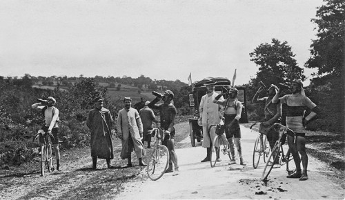 The top riders at the 1914 Tour all drank 'Koto wine containing Peruvian coca', according to an advertorial that appeared in L'Auto