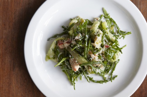 Crab-samphire-and-cucumber-salad-1024x682