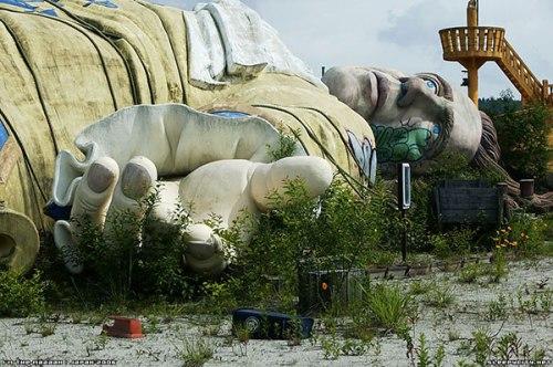 Abandoned Gulliver's Travels Amusement Park