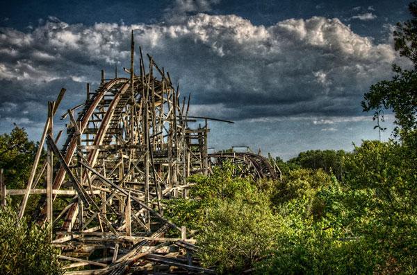 The strange beauty of abandoned amusement parks | the ...