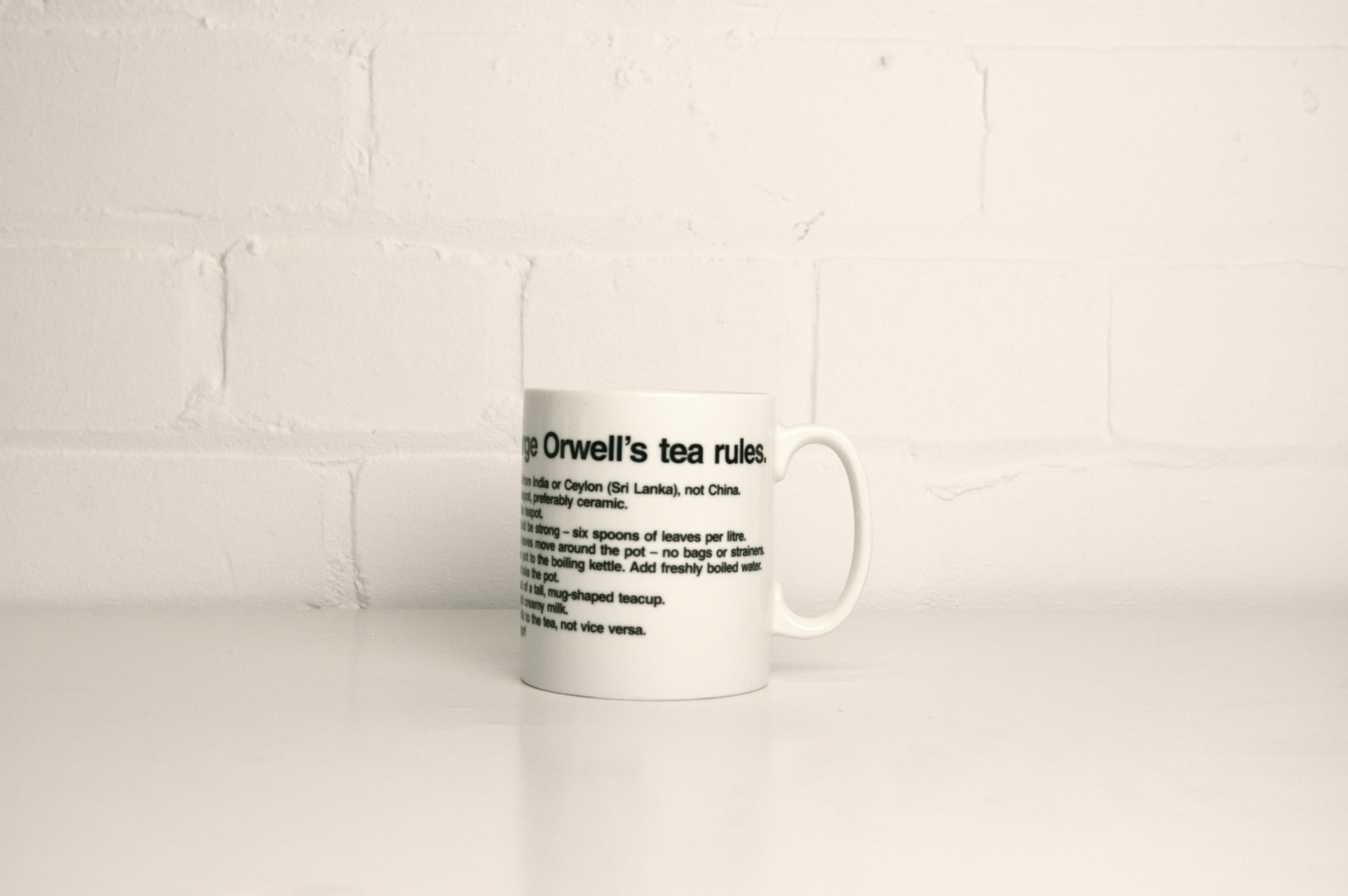 """orwell essay on making tea In the essay, orwell notes, """"the best manner of making it is the subject of violent disputes"""" but nonetheless is brave enough to offer """"my own eleven rules,  and while he's okay with adulterating tea with milk, orwell minces no words when it comes to the question of sugar in tea, """"how can you call yourself a true tealover if you destroy the flavour of your tea by putting sugar in it."""