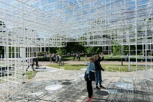 Inside Sou Fujimoto's Serpentine Gallery Pavilion