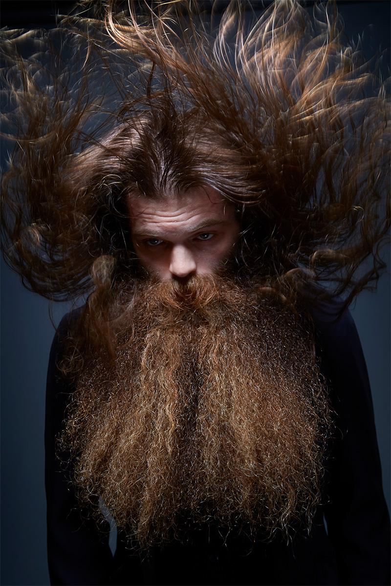 U Beard Absurd Portrait...