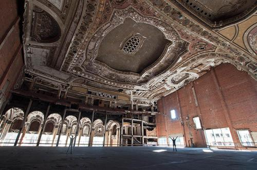 Michigan theatre, Detroit, Michigan.